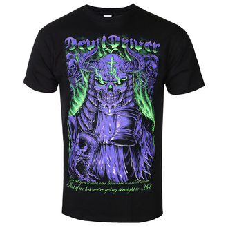 t-shirt metal men's Devildriver - JUDGE NEON - PLASTIC HEAD, PLASTIC HEAD, Devildriver