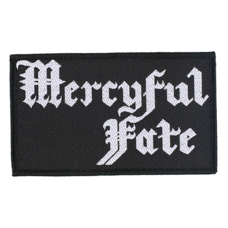 Patch Mercyful Fate - Logo - RAZAMATAZ, RAZAMATAZ, Mercyful Fate
