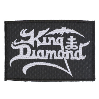 Patch King Diamond - Logo - RAZAMATAZ, RAZAMATAZ, King Diamond