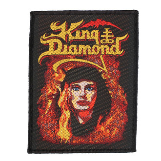 Patch King Diamond - Fatal Portrait - RAZAMATAZ, RAZAMATAZ, King Diamond