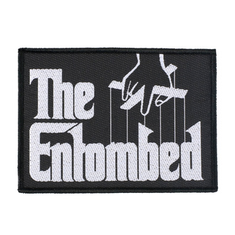 Patch Entombed - Godfather Logo - RAZAMATAZ, RAZAMATAZ, Entombed