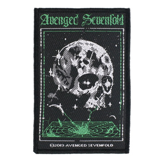 Patch Avenged Sevenfold - Vortex Skull - RAZAMATAZ, RAZAMATAZ, Avenged Sevenfold