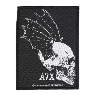 Patch Avenged Sevenfold - Skull Profile - RAZAMATAZ, RAZAMATAZ, Avenged Sevenfold