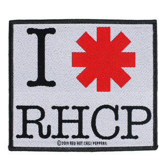 Patch Red Hot Chili Peppers - I Love RHCP - RAZAMATAZ, RAZAMATAZ, Red Hot Chili Peppers