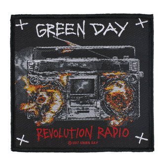 Patch Green Day - Revolution Radio - RAZAMATAZ, RAZAMATAZ, Green Day