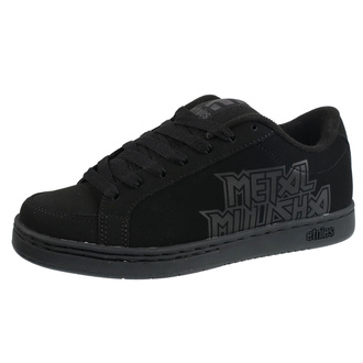 low sneakers men's - METAL MULISHA - 004 BLACK/BLACK/BLACK