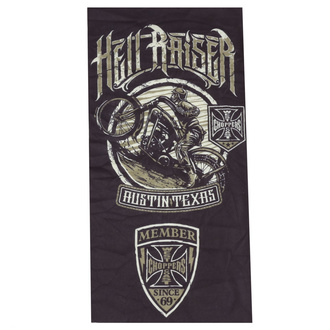 Neck warmer WEST COAST CHOPPERS - HELL RAISER - BLACK, West Coast Choppers
