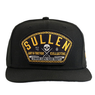 Cap SULLEN - DEPTHS - BLACK, SULLEN