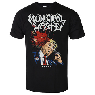 Metal T-Shirt men's Municipal Waste - Trump- black - ART WORX, ART WORX, Municipal Waste