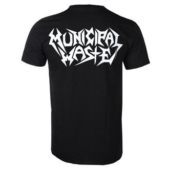 t-shirt men Municipal Waste - Logo - ART WORX, ART WORX, Municipal Waste
