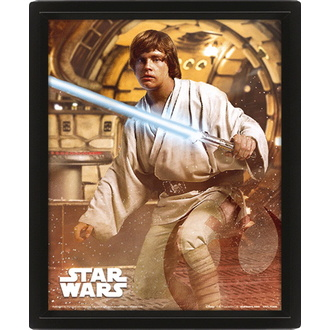 3D picture - STAR WARS - VADER VS SKYWALKER - PYRAMID POSTERS, PYRAMID POSTERS, Star Wars