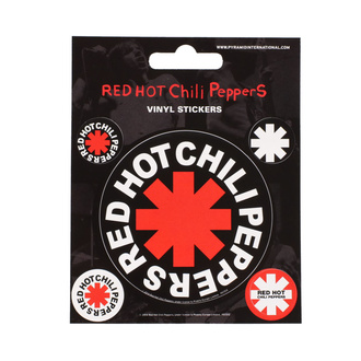 Stickers RED HOT CHILI PEPPER - PYRAMID POSTERS, PYRAMID POSTERS, Red Hot Chili Peppers
