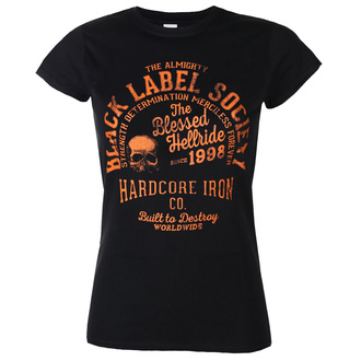 Women's t-shirt BLACK LABEL SOCIETY - HARDCORE HELLRIDE - PLASTC HEAD - PH11927G