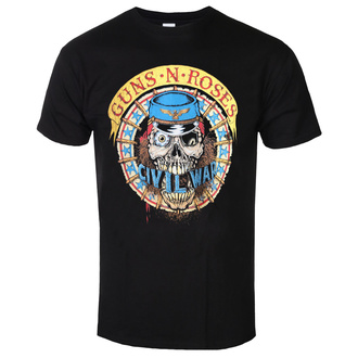 men's t-shirt Guns N' Roses - Skull Circle - ROCK OFF, ROCK OFF, Guns N' Roses