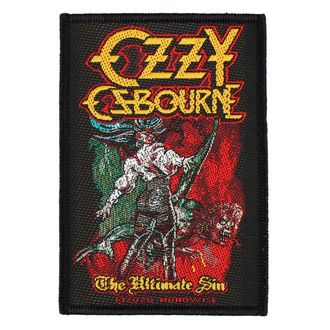 Patch Ozzy Osboume - The Ultimate Sin - RAZAMATAZ, RAZAMATAZ, Ozzy Osbourne