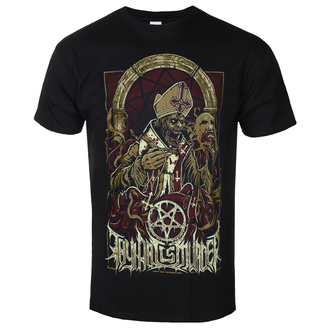 Men's t-shirt Thy Art Is Murder - Evil Pope - Black - INDIEMARCH, INDIEMERCH, Thy Art Is Murder