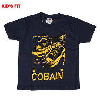 Children's t-shirt Kurt Cobain - Laces - ROCK OFF, ROCK OFF, Nirvana