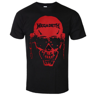 Men's t-shirt Megadeth - Contrast Red - ROCK OFF - MEGATS03MB