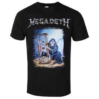 Men's t-shirt Megadeth - Countdown Hourglass - ROCK OFF - MEGATS04MB