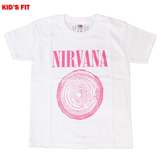 Children's t-shirt Nirvana - Vestibule - WHT - ROCK OFF, ROCK OFF, Nirvana