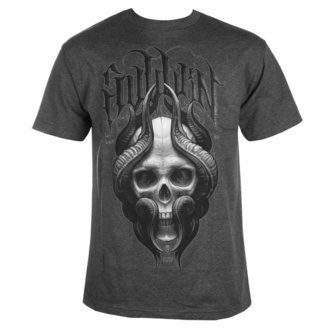 Men's t-shirt SULLEN - STEPAN NEGUR SKULL- CHARCOAL HEATHER, SULLEN