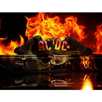 Shoes DC - AC / DC - HIGHWAY TO HELL - BLACK GRADIENT, DC, AC-DC