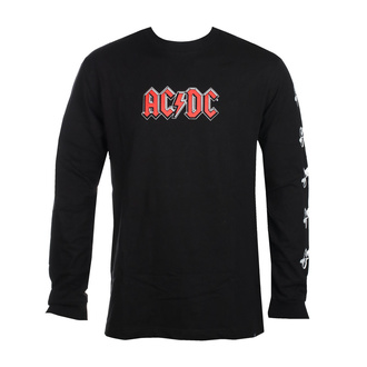 Men long sleeve t-shirt DC - AC / DC - ABOUT TO ROCK - BLACK - ADYZT04981-KVJ0