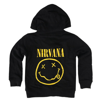 children's hoodie Nirvana - Smiley - Metal-Kids, Metal-Kids, Nirvana
