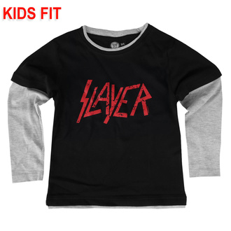children's t-shirt with long sleeve Slayer - Logo - Metal-Kids - 471-29-84-3