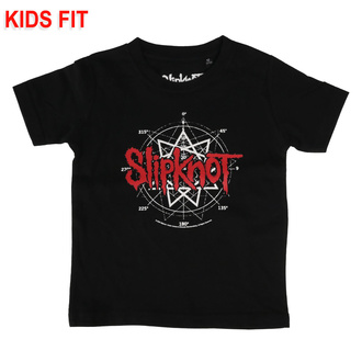 children's t-shirt Slipknot - Star Symbol - Metal-Kids, Metal-Kids, Slipknot