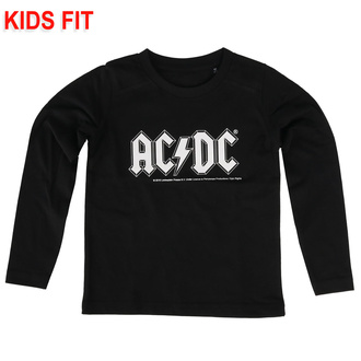 children's t-shirt with long sleeve AC / DC - Logo - Metal-Kids - 431.36.8.7