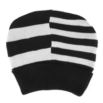 Beanie HEARTLESS - JACK - BLACK / WHITE, HEARTLESS