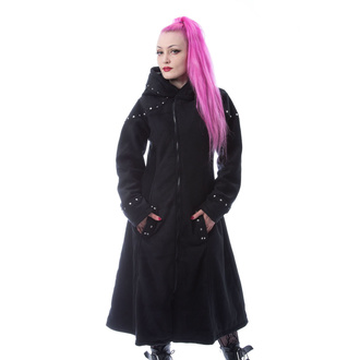 Women's coat POIZEN INDUSTRIES - STORY - BLACK, POIZEN INDUSTRIES