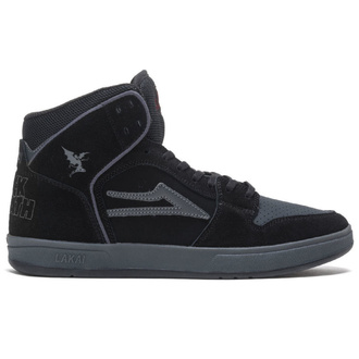 shoes Lakai x Black Sabbath - Telford SMU - black grey suede, Lakai x Black Sabbath, Black Sabbath