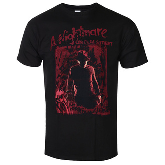 Men's t-shirt Nightmare On Elm Street - Freddy Silhouette - Black - BILNES00006-MN-TS-BLK