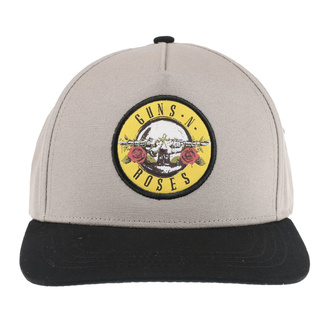 Cap Guns N' Roses - Circle Logo - SAND / BL - ROCK OFF, ROCK OFF, Guns N' Roses