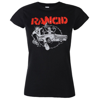 Women's t-shirt Rancid - Cadillac Fitted - Black - KINGS ROAD - 20172311