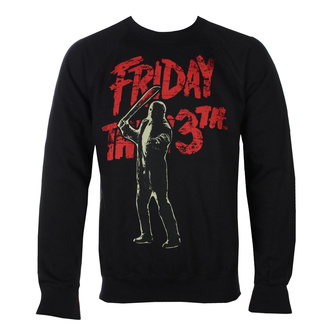 Men's sweatshirt Friday The 13th - Jason Voorhees - Black - HYBRIS, HYBRIS, Friday the 13th