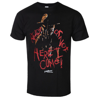Men's t-shirt A Nightmare On Elm Street - Here I Come - Black - HYBRIS, HYBRIS, A Nightmare on Elm Street