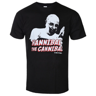 Men's t-shirt The Silence of the Lambs - Hannibal - The Cannibal - Black - HYBRIS, HYBRIS, Silence of the Lambs