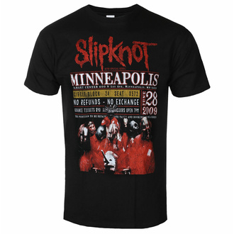 Men's t-shirt Slipknot - Minneapolis '09 - ROCK OFF, ROCK OFF, Slipknot