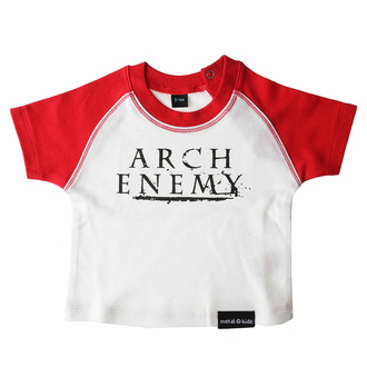 Children's t-shirt Arch Enemy - red / white - MER038