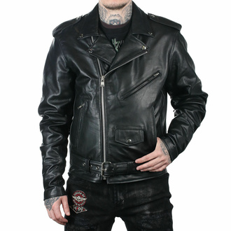 Men's jacket (metal jacket) - long - UNIK - 13.ZO - DAMAGED, UNIK