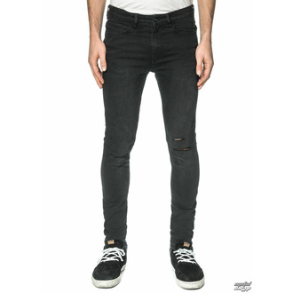 men's trousers (jeans) GLOBE - G.04 Skinny - Beat Down Black - GB01736005-BTDWNBLK - DAMAGED - BH126