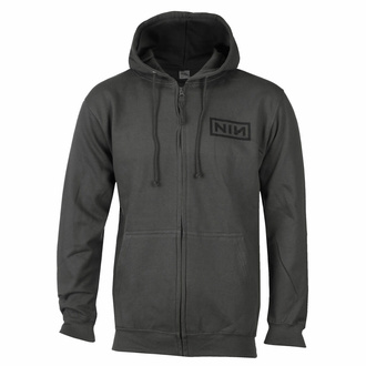 Men's hoodie NINE INCH NAILS - CLASSIC BLACK LOGO - PLASTIC HEAD - RTNIN009