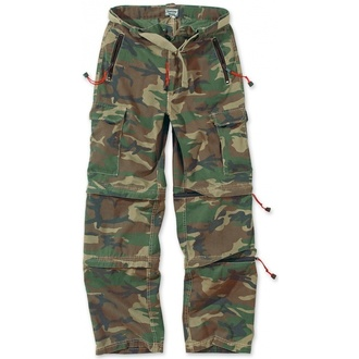 pants SURPLUS - Trekking Trouser - WOODLAND - 05-3595-22