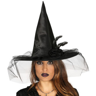 Halloween Witch Hat BLACK WITCH FLOWER, NNM