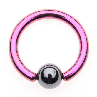 piercing jewel - Metallic Purple - 5mm