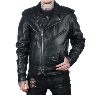 Men's leather biker jacket UNIK, UNIK