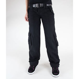 pants women SURPLUS - LADIES Trouser - 33-3587-63 - BLACK